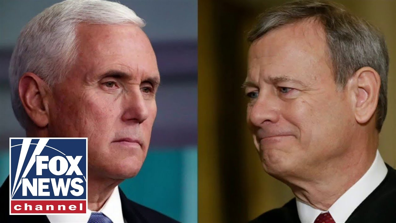Pence calls Chief Justice Roberts a 'disappointment to conservatives'
