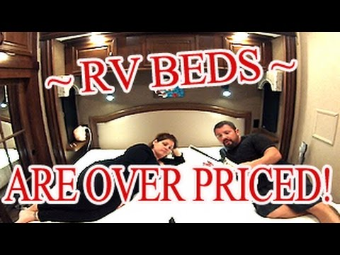 RV Bed Sneaky Trick, Save And Use Your Full Size Mattress
