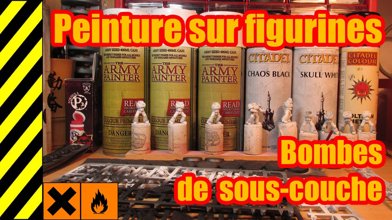 tuto peinture sur figurines bombes de sous couche youtube. Black Bedroom Furniture Sets. Home Design Ideas