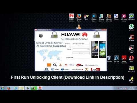 Huawei W1 Unlock Tutorial - ALL MAJOR NETWORKS