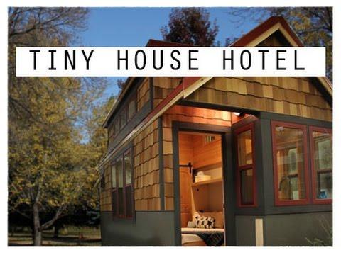 Tiny House Hotel ! Lyons, Colorado   WeeCasa Tiny House Tour