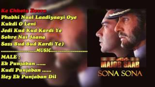 Video Sona Sona With Female Vocal & Chorus (MAJOR SAAB) PAID_KARAOKE SAMPLE download MP3, 3GP, MP4, WEBM, AVI, FLV Juli 2018