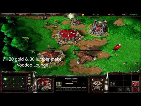 Warcraft 3 The Frozen Throne Orc Build Order Guide #1