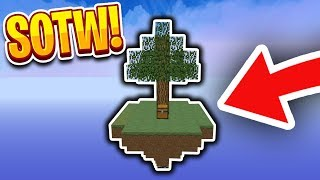LIVING ON A ISLAND SOTW! (Skylords)   Minecraft Skyblock