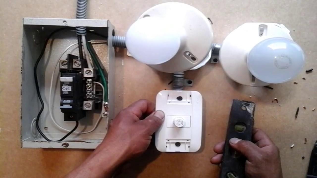 Instalar un regulador de luminosidad install a dimmer for Como instalar una terma electrica