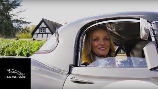 Jaguar Lightweight E-type | Chassis 15 with Katarina Kyvalova