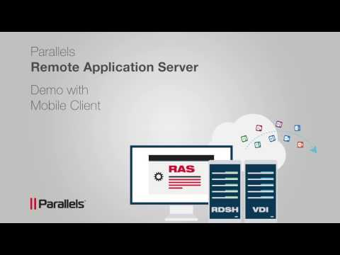 Parallels Remote Application Server end-to-end Demo