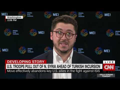 Interview with Hala Gorani, CNN - Trump Syria withdrawal