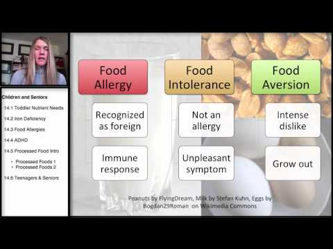 14.3 Nutrition in Childhood and the Older Years: Food Allergies