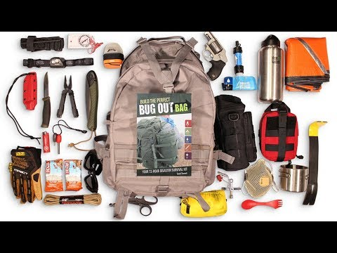 Top 10 Must Have Pre-Made Survival Bug Out Bag