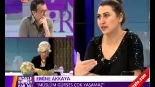 Emine Akkaya Müslüm Gürses 2 ay içinde ölecek