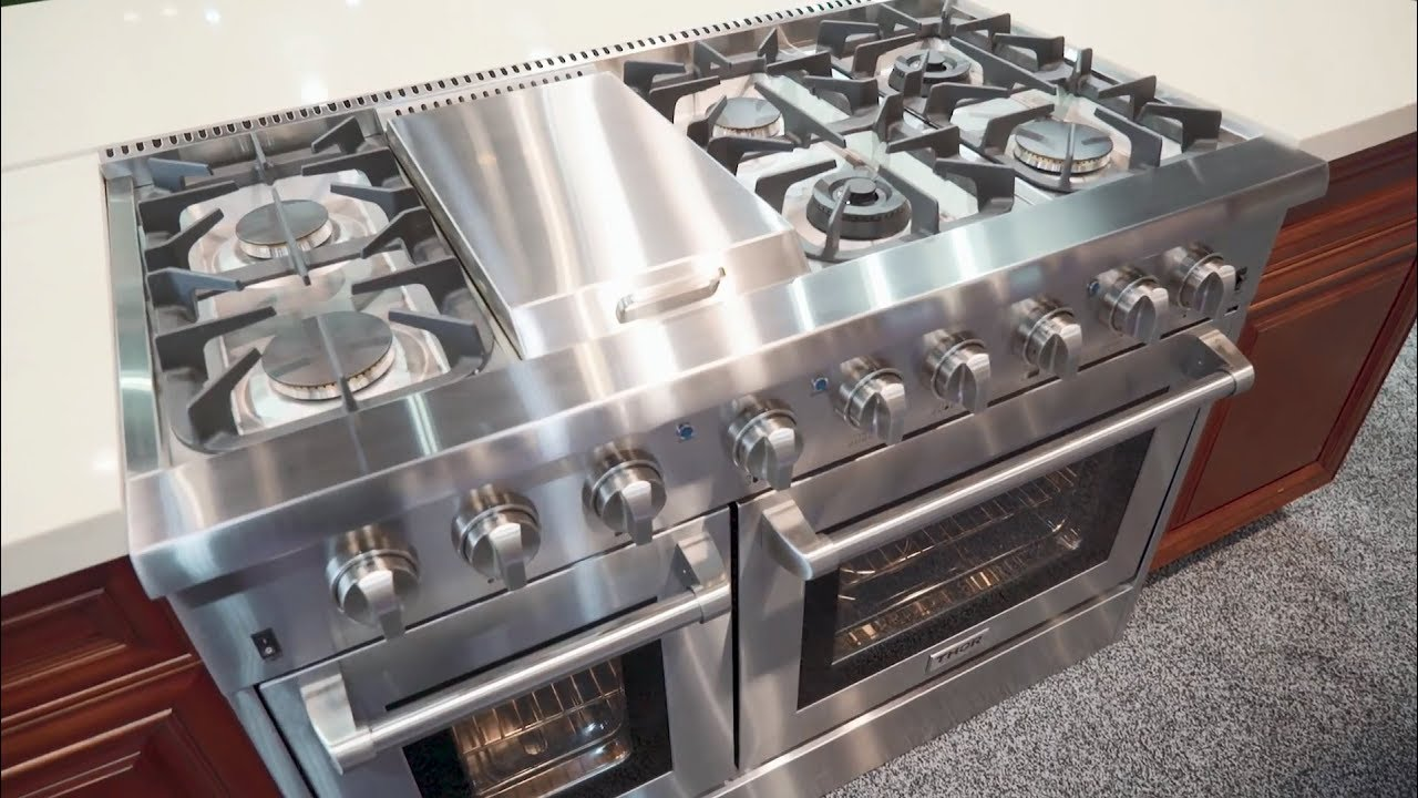 Thor Kitchen S 48 Inch Dual Fuel Range