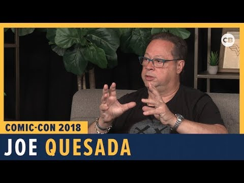 Joe Quesada - SDCC 2018 Exclusive Interview