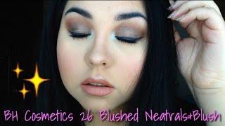 3 eyeshadow brush easy smokey eye   bh cosmetics 26 blushed neutrals blush palette