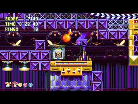 Sonic Mania Plus - Encore Mode - Studiopolis Zone Special