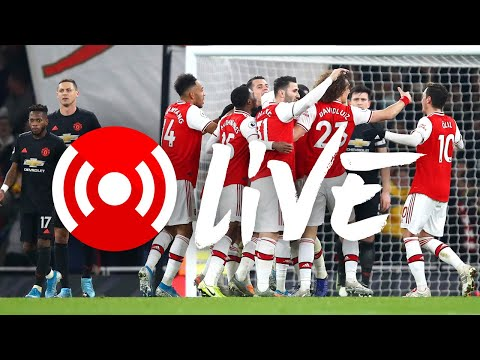 Arsenal 2-0 Manchester United | Premier League | Arsenal Nation Live