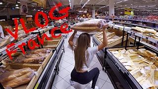VLOG Франция. Мон Сен Мишель и Цены на продукты.