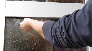 How to replace glazing gasket Video
