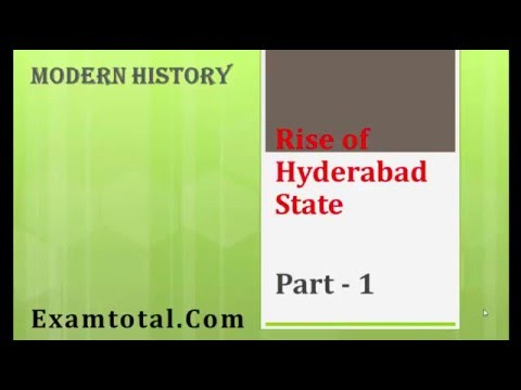 Nizam of Hyderabad: Rise of new autonomous state - Hyderabad:Modern History for UPSC/SSC/CSAT