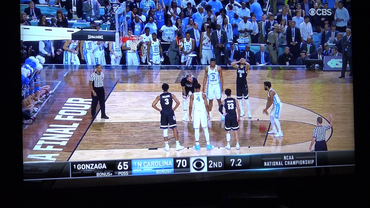 Highlights from the national championship gonzaga vs north carolina - Gonzaga Vs North Carolina Championship Final Minutes Live Fan Reaction