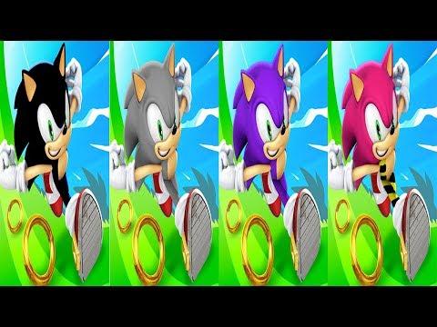 Sonic Dash - SHADOW VS SILVER VS BIG VS CHARMY