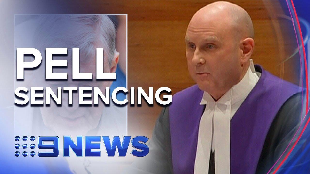 Pell Sentencing Part 4   Nine News Australia