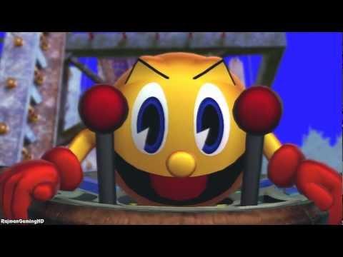Street Fighter X Tekken - Street Fighter X Tekken 'Pac-Man & Mega Man Rival Cutscenes' TRUE-HD QUALI