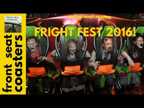 Fright Fest Opening Weekend at Six Flags Magic Mountain 24th Season to be Biggest & Scariest Ever!