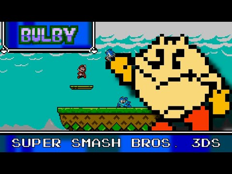 Super Smash Bros. 3DS 8 Bit Remix