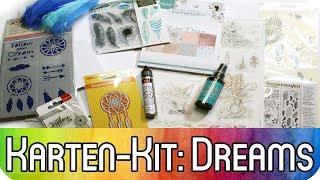 Karten-Kit Dezember: Dreams / Träume | Federn, Traumfänger, Pfeile und mehr zur Kartengestaltung