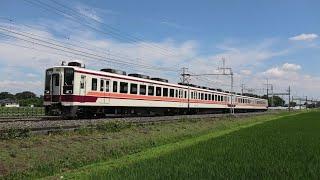 東武6050系6050型6174F 普通東武日光行 北鹿沼~板荷通過【4K】