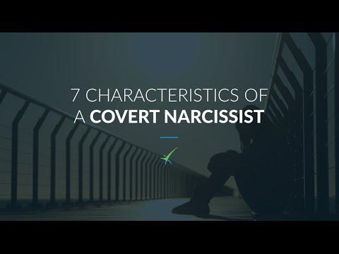 7 Characteristics of A Covert Narcissist