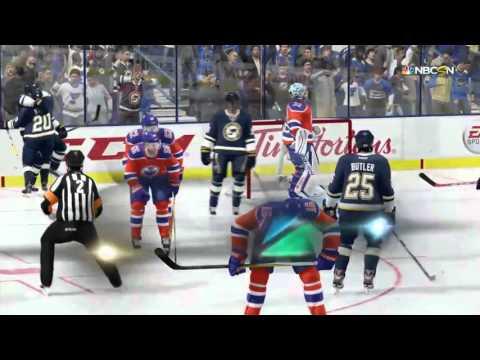 NHL 16 Hockey Full Game Blues vs Oilers