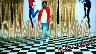 Chamma chamma  Dance video song Neha kakkar dance choreography (Aryan sharma)