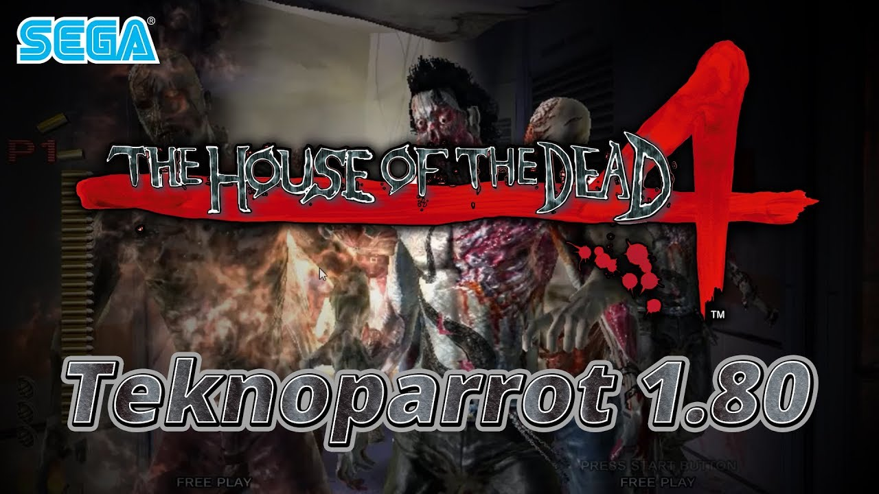 The House Of The Dead 4 Teknoparrot 1 80 60fps Native Youtube