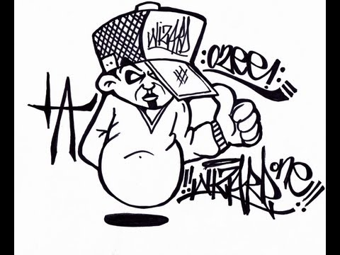 Wizard cholowiz13 how to draw graffiti character