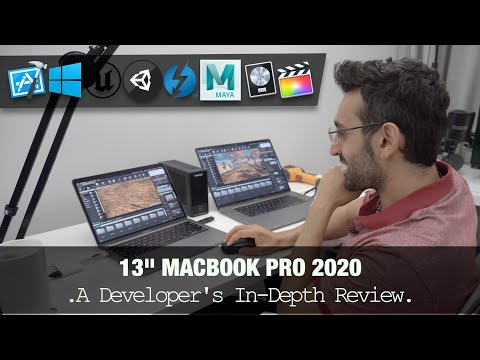 2020 13-Inch MacBook Pro - Developer REVIEW | Coding, Editing, EGPU, Gaming...