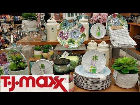 Shop WITH ME TJ MAXX KITCHENWARE KATE SPADE CYNTHIA ROWLEY WALK THROUGH MAY 2018