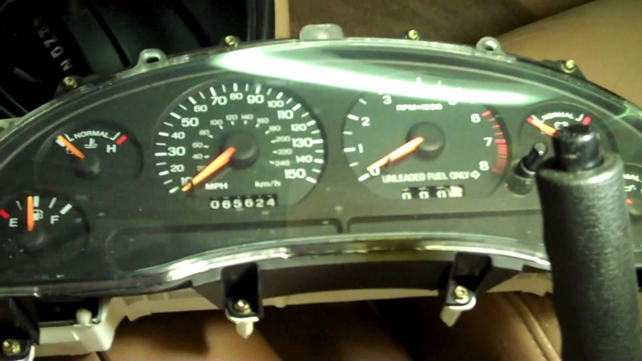 92 To 99 Mustang Odometer Gear Replace And Fix