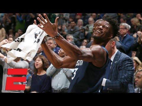 Jimmy Butler turns boos into 'MVP' chants vs. Cavaliers | NBA Highlights