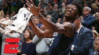 Jimmy Butler turns boos into 'MVP' chants vs. Cavaliers   NBA Highlights