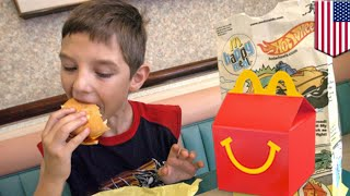 Happy Meal: McDonald's dropping cheeseburger, choco milk from Happy Meal to be 'healthy' - TomoNews