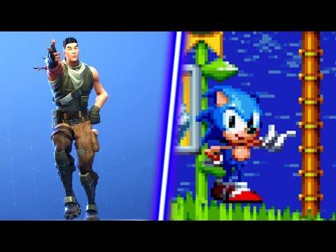 Sonic Mania Plus - Fortnite Default Dance Mod