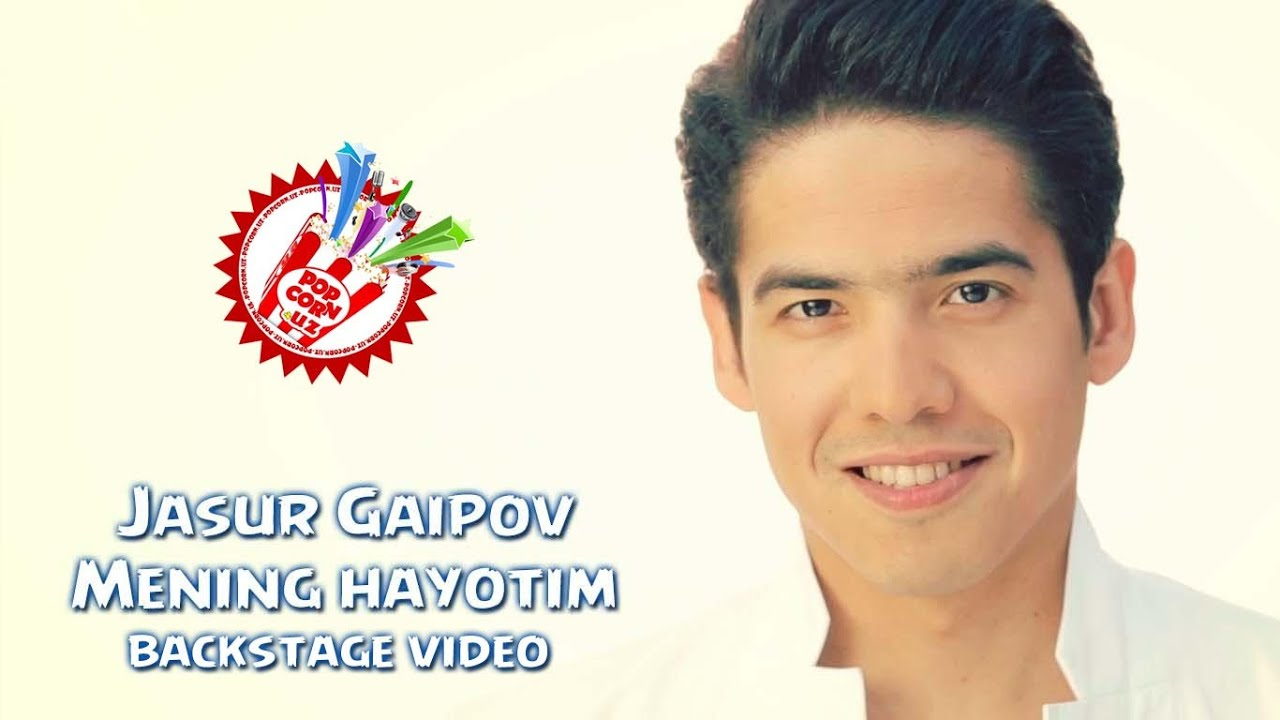 Jasur Gaipov - Mening hayotim (backstage video)