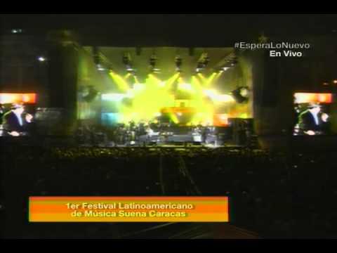 Omar Enrique en el Festival Suena Caracas con Kinito Méndez y Fernandito Villalona