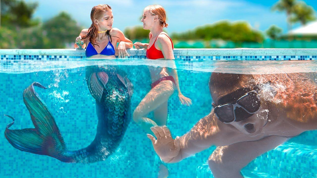 ¡Mi Amiga Es Una Sirena! / Situaciones Graciosas de Sirenas