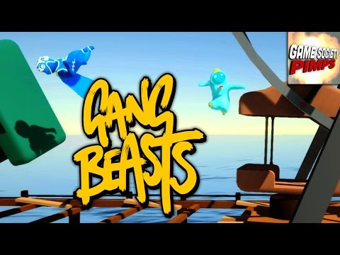 Gang Beasts - Ferris Wheel F*ckfest (With ALL the GameSocietyPimps)