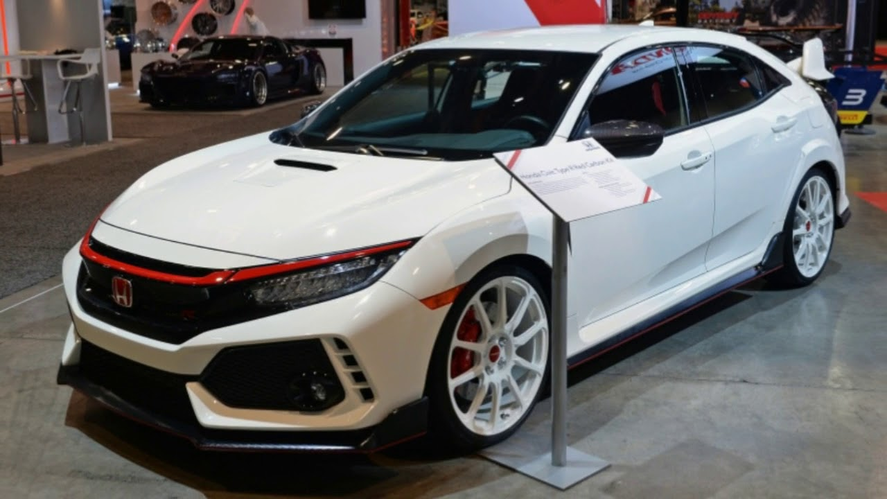 Honda Showcases Civic Type R Si Fit Performance Parts