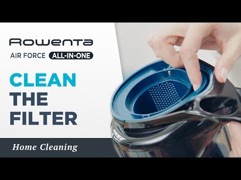 How to clean the filter? | AIR FORCE™ ALL-IN-ONE | Rowenta