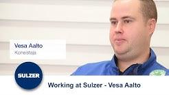 Working at Sulzer - Vesa Aalto